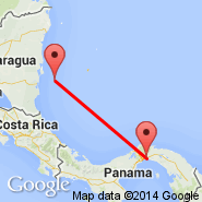 Panama City (Tocumen International, PTY) - Corn Island (RNI)