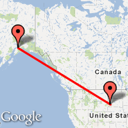 Rapid City (Regional, RAP) - Anchorage (Ted Stevens Anchorage International Airport, ANC)