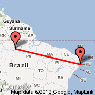 Recife (Guararapes Intl, REC) - Barreirinhas (BRB)