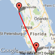 Fort Myers (Southwest Florida Reg, RSW) - Cedar Key (Lewis, CDK)