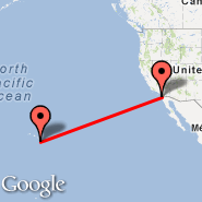 San Diego (San Diego International Airport, SAN) - Waikoloa/Hawaii (Waikoloa Airport, WKL)
