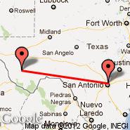 San Antonio (San Antonio International, SAT) - Marfa (Municipal, MRF)