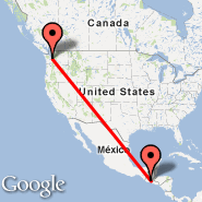 Seattle (Seattle-Tacoma International, SEA) - Guatemala City (La Aurora, GUA)
