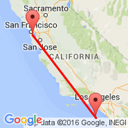 San Francisco (San Francisco International, SFO) - Catalina Island (Avalon Bay, AVX)