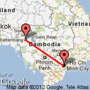 Ho Chi Minh City (Tan Son Nhat International, SGN) - Battambang (BBM)