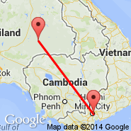 Ho Chi Minh City (Tan Son Nhat International, SGN) - Buriram (Buri Ram, BFV)