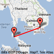 Ho Chi Minh City (Tan Son Nhat International, SGN) - Krabi (KBV)