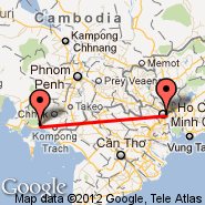 Ho Chi Minh City (Tan Son Nhat International, SGN) - Kampot (KMT)