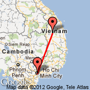Ho Chi Minh City (Tan Son Nhat International, SGN) - Kontum (KON)