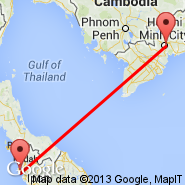Ho Chi Minh City (Tan Son Nhat International, SGN) - Penang (Penang International, PEN)