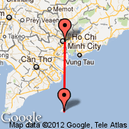 Ho Chi Minh City (Tan Son Nhat International, SGN) - Con Dao (Coong, VCS)