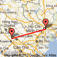 Ho Chi Minh City (Tan Son Nhat International, SGN) - Long Xuyen (XLO)