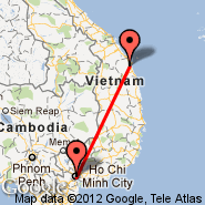 Ho Chi Minh City (Tan Son Nhat International, SGN) - Quang Ngai (XNG)