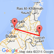 Sharjah (Sharjah International Airport, SHJ) - Al Fujairah (Fujairah Intl, FJR)