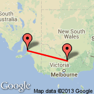 Shepparton (SHT) - Adelaide (Adelaide International Airport, ADL)