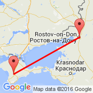 Simferopol (SIP) - Rostov-on-Don (Rostov, ROV)