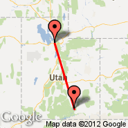 Salt Lake City (Salt Lake City International, SLC) - Bullfrog Basin (Bullfrog Basin Airport, BFG)