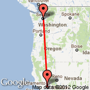 Sacramento (Sacramento International, SMF) - Seattle (Seattle-Tacoma International, SEA)