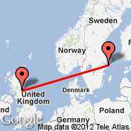 Stockholm (Metropolitan Area, STO) - Edinburgh (Turnhouse, EDI)