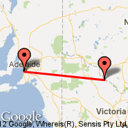 Swan Hill (SWH) - Adelaide (Adelaide International Airport, ADL)