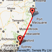 Sydney (Kingsford Smith, SYD) - Coffs Harbour (CFS)