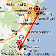 Sydney (Kingsford Smith, SYD) - Nowra (NOA)