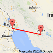Shiraz (International (Shahid Dastghaib International), SYZ) - Abadan (ABD)