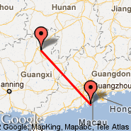 Shanzhou (SZO) - Guilin (Liangjiang International Airport, KWL)