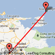 Tobago (Crown Point Airport, TAB) - Ciudad Bolivar (Tom, CBL)