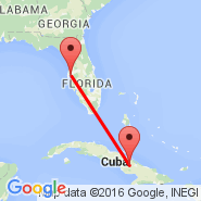 Tampa (Tampa International, TPA) - Camaguey (Ign Agramonte Intl, CMW)