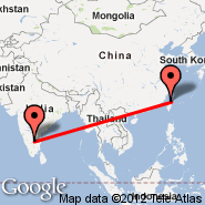 Taipei (Taiwan Taoyuan International, TPE) - Bangalore (Bangalore International Airport, BLR)
