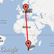Treviso (S. Angelo, TSF) - Cape Town (Cape Town International, CPT)