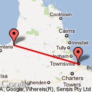 Townsville (Townsville International, TSV) - Normanton (NTN)