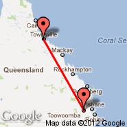 Townsville (Townsville International, TSV) - Toowoomba (TWB)