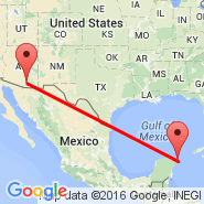 Tucson (Tucson International Airport, TUS) - Cancun (Cancún International, CUN)