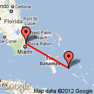 Staniel Cay (TYM) - Fort Lauderdale (Fort Lauderdale/hollywood International, FLL)