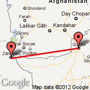 Quetta (UET) - Zahedan (Zahedan International Airport, ZAH)