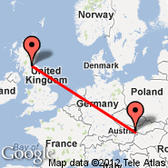 Vienna (Schwechat International, VIE) - Edinburgh (Turnhouse, EDI)
