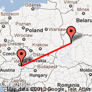 Vienna (Schwechat International, VIE) - Lutsk (UCK)