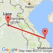 Vientiane (Wattay, VTE) - Da Nang (Da Nang International Airport, DAD)