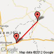 Windhoek (Hosea Kutako International, WDH) - Otjiwarongo (OTJ)