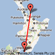 Wellington (Wellington International, WLG) - Coromandel (CMV)