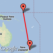 Wellington (Wellington International, WLG) - Nauru (Nauru International, INU)