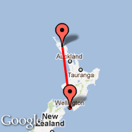 Wellington (Wellington International, WLG) - Kaikohe (KKO)