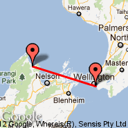Wellington (Wellington International, WLG) - Takaka (KTF)