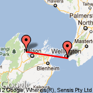 Wellington (Wellington International, WLG) - Motueka (MZP)