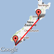 Wellington (Wellington International, WLG) - Stewart Island (SZS)