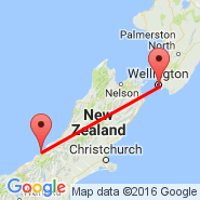 Wellington (Wellington International, WLG) - Franz Josef (WHO)