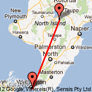 Wellington (Wellington International, WLG) - Whitianga (WTZ)