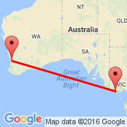 Warrnambool (WMB) - Perth (Perth International, PER)